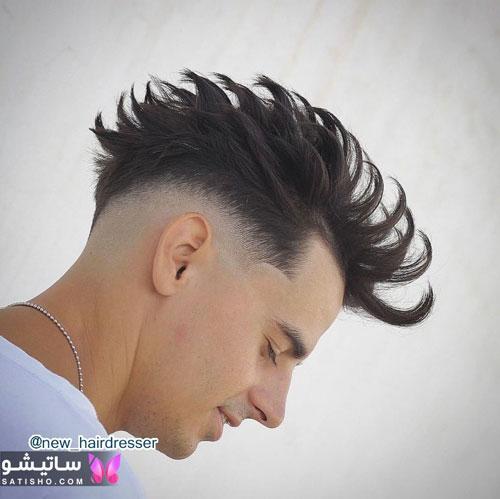 عکس مدل موهای مردانه جدید 98