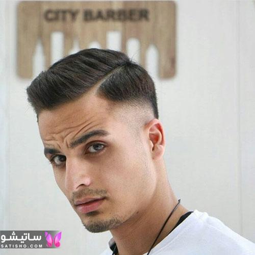 نمونه مو کوتاه مردانه فشن