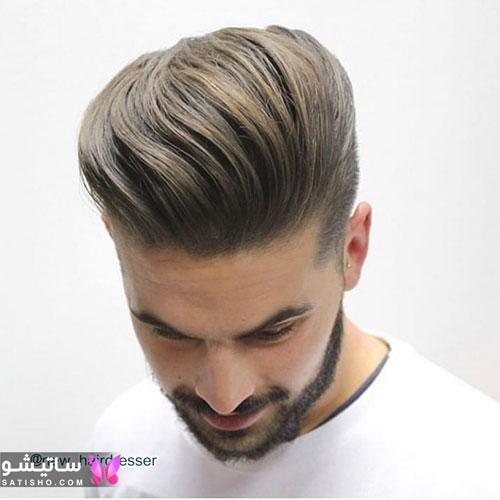 مدل مو مردانه و پسرانه حالت دار