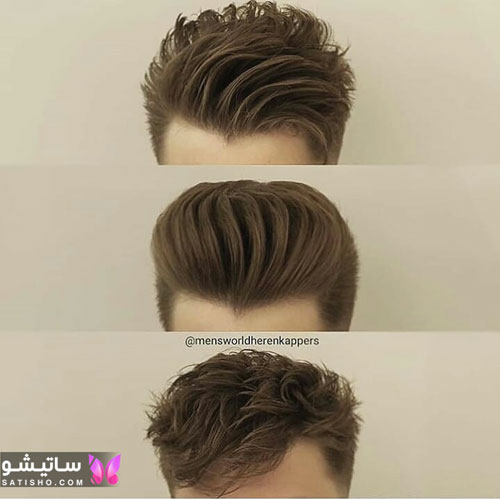 عکس مدل مو مردانه برای کوتاهی