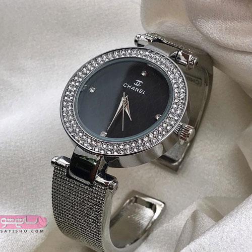 نمونه ساعت مچی زنانه نقره