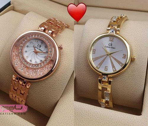 مدلهای ساعت زنانه تزیین شده با نگین مناسب عروس