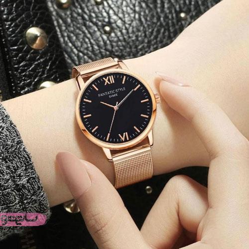 عکس ساعت دخترانه ۲۰۱۹ طلایی رنگ
