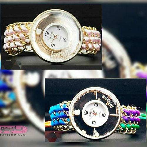عکس ساعت دخترانه مشکی