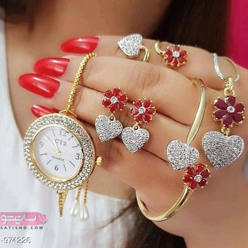 عکس ساعت دخترانه قشنگ