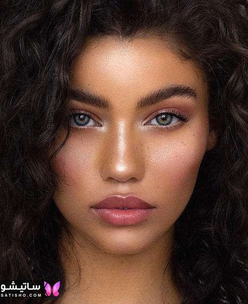 زیباترین آرایش های جدید دخترانه