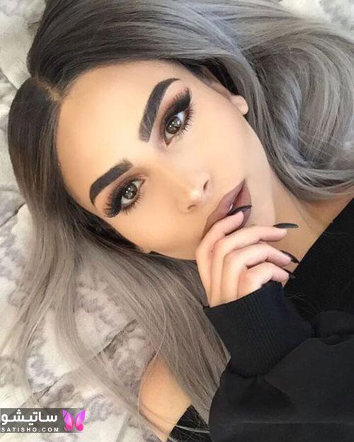 مدل آرایش لایت دخترانه اینستاگرام