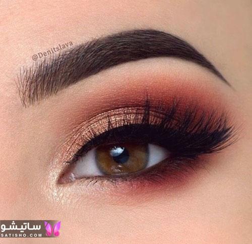 زیباترین آرایش چشم