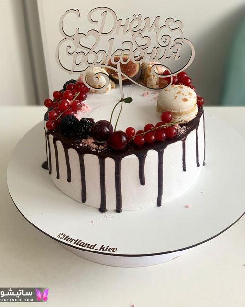 کیک تولد دخترانه لاکچری جدید
