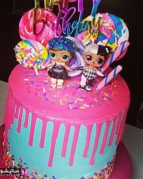 چند مدل تزیین کیک تولد ساده