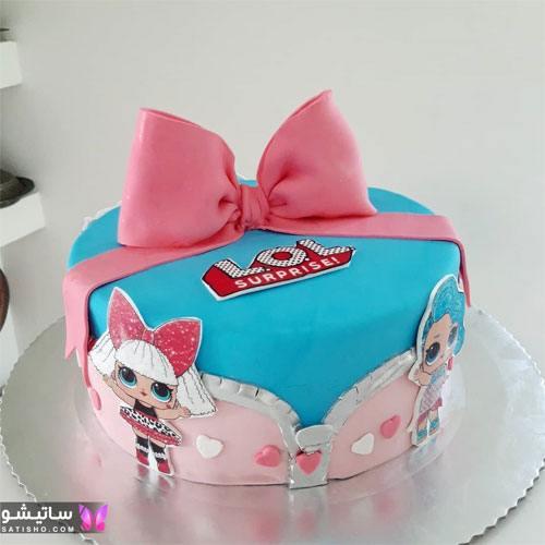 تزیین کیک تولد یک سالگی دخترانه