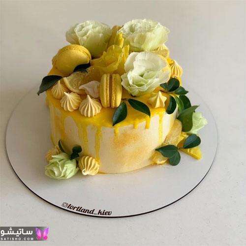 کیک تولد لاکچری زنانه