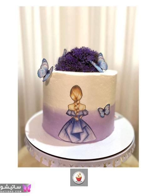 لینک تزیین کیک تولد