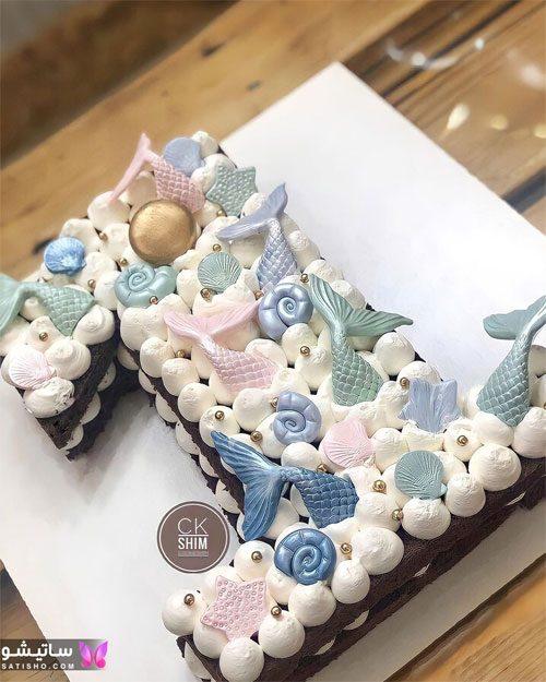 تزیین کیک تولد با عدد یک انگلیسی