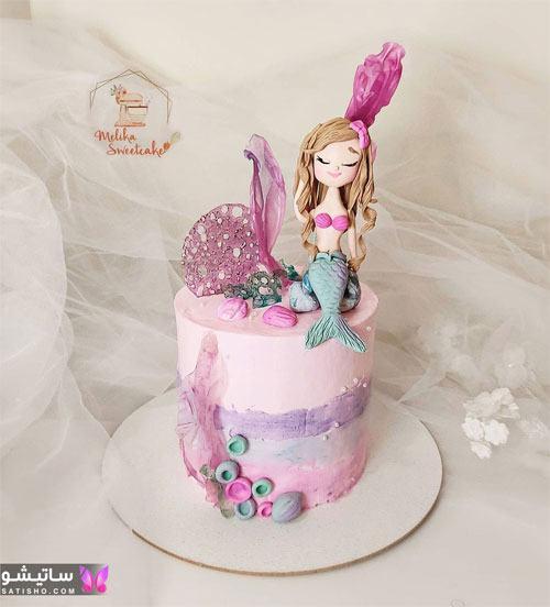 بهترین ایده ها برای تزیین کیک های دخترونه