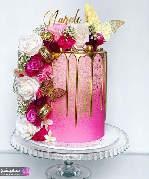 بهترین و جدیدترین کیک تولد دخترانه