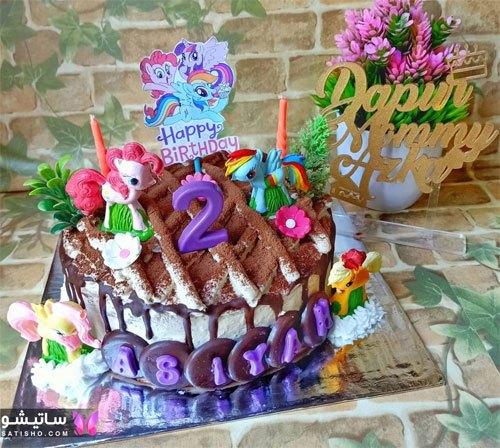 جدیدترین مدل کیک تولد دخترانه