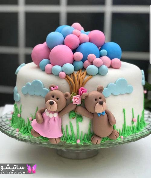 مدل کیک تولد بچگانه