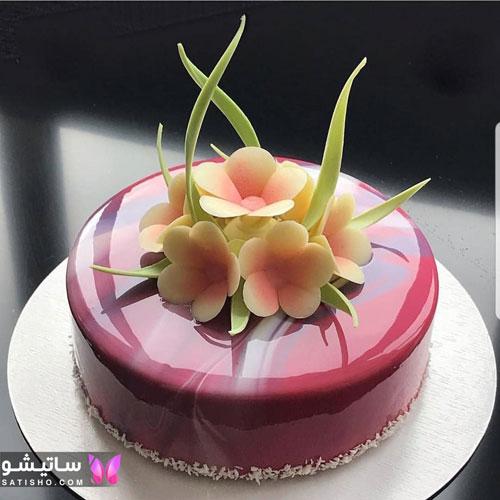 عکس کیک تولد ساده و شیک