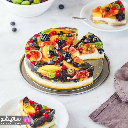 کیک تولد شیک خانگی برای همسر