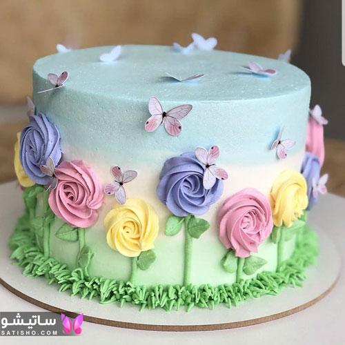 عکس کیک تولد دخترانه فانتزی 2019