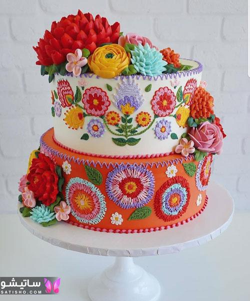 مدل کیک تولد دخترانه جوان