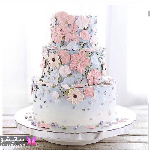 مدل تزیین کیک تولد خوشمزه