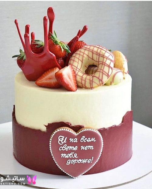 عکس کیک تولد دخترانه باکلاس