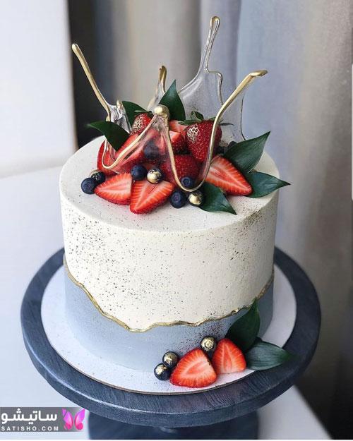 مدل کیک تولد جدید لاکچری