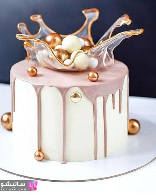 عکس کیک تولد تزیین شده