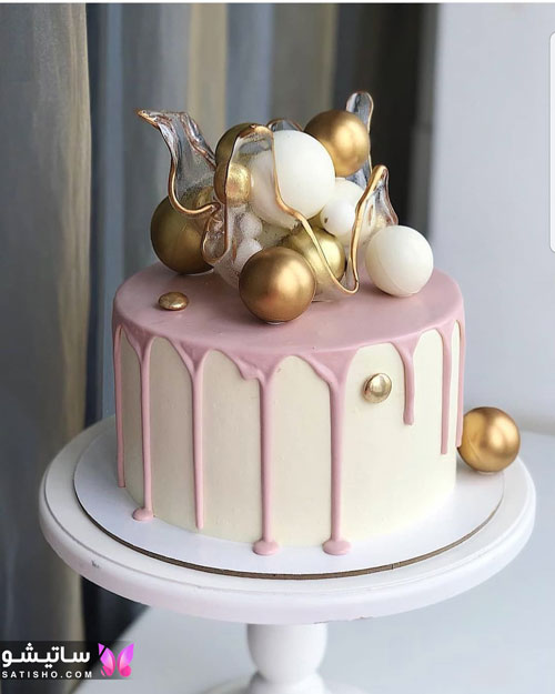 کیک تولد شیک مناسب بزرگسالان