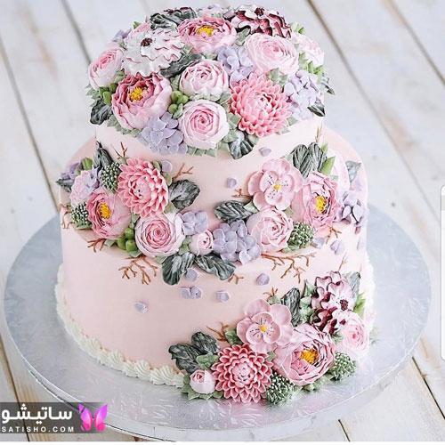 کیک تولد دخترانه بزرگسال جدید 98