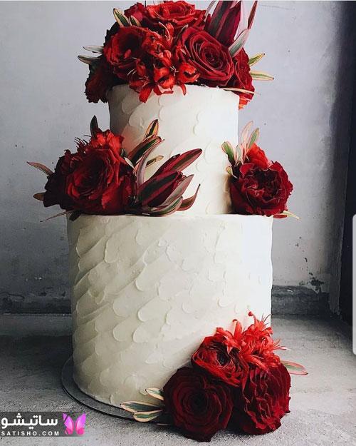مدل کیک تولد عاشقانه برای همسر