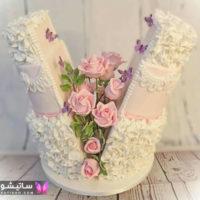 ۵۵ مدل کیک عروسی ۲۰۱۹ شیک و لاکچری