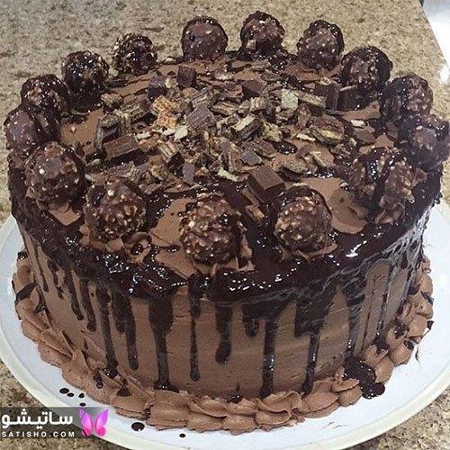مدلهای تزیین کیک تولد ساده