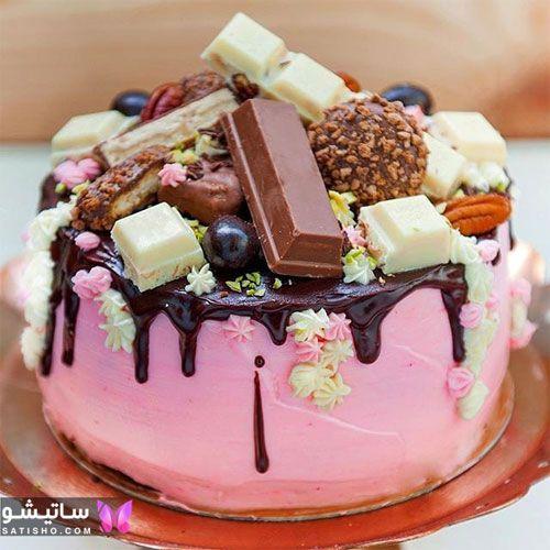 مدلهای شیک کیک تولد شکلاتی