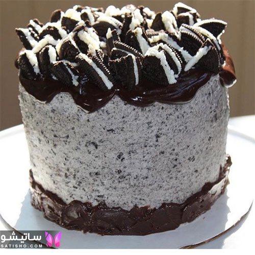 مدل کیک تولد شکلاتی ساده مردانه