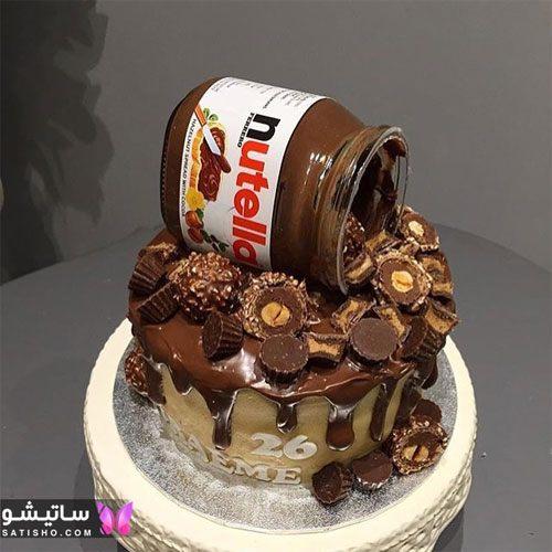 کیک شکلاتی مناسب ولنتاین 2020