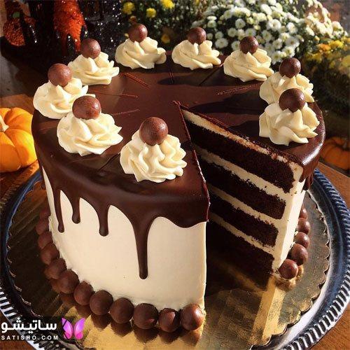 مدلهای جدید از کیک تولد شکلاتی شیک و زیبا