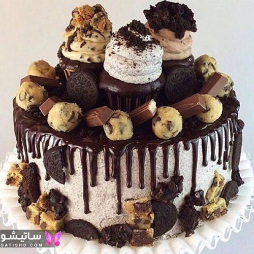 جدیدترین مدل کیک تولد شکلاتی