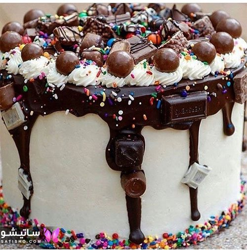 مدلهای شیک کیک شکلاتی