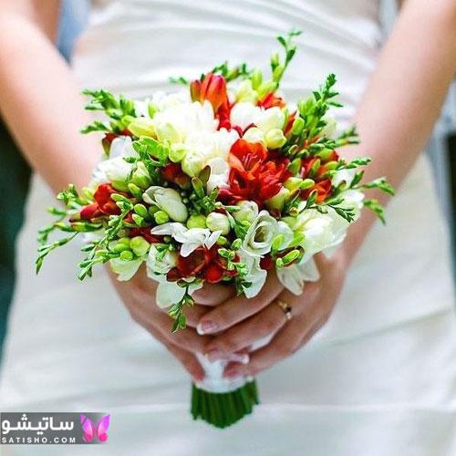 لاکچری ترین دسته گل عروس مصنوعی 2020
