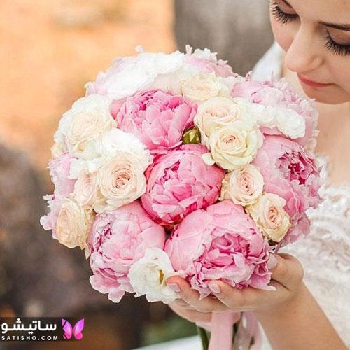 عکس دسته گل رز عروس جدید