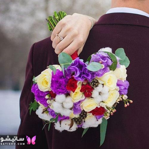 دانلود عکس دسته گل عروس جدید