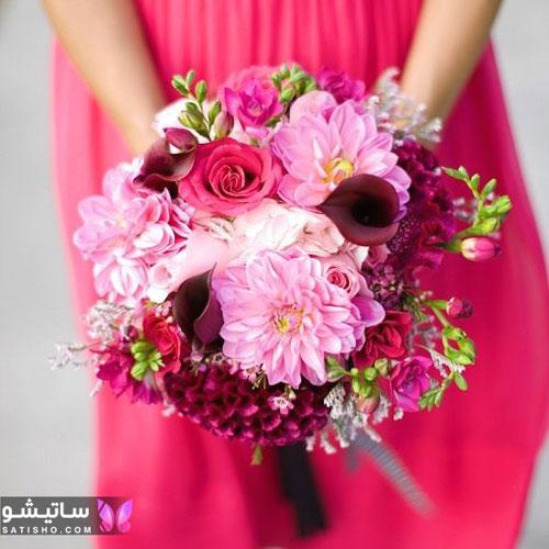 تصاویر دسته گل عروس جدید