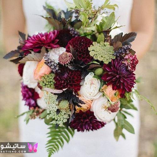 عکسهای دسته گل عروس جدید