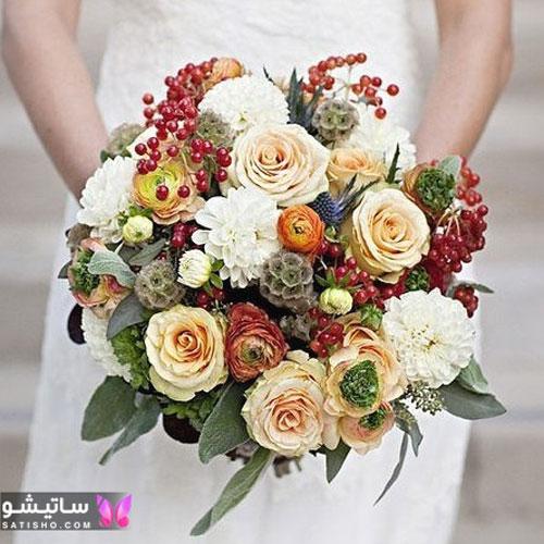 عکس دسته گل عروسی جدید