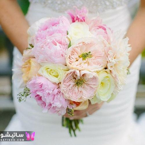 عکس دسته گل عروس جدید 98