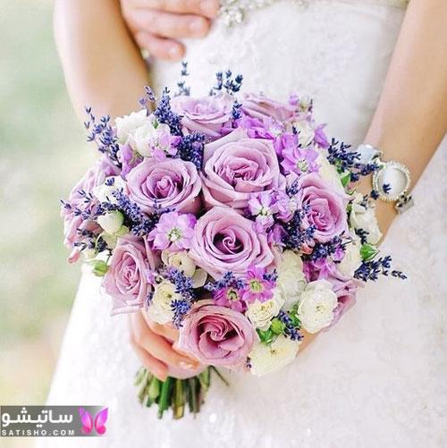 دسته گل طبیعی عروس در اینستا