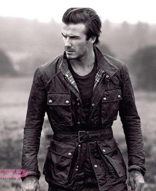 مدلهای کاپشن چرم اصل مردانه کلاه دار